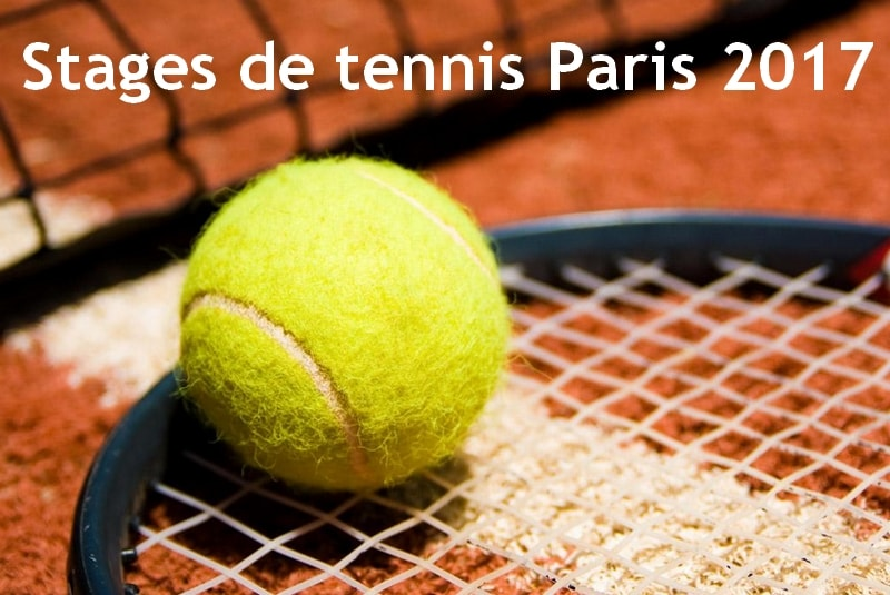 Stages de Tennis Paris